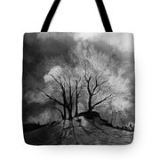 The Lonely Grave Tote Bag