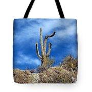 The Lonely Suguaro Tote Bag