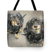 The Long And Short Of It Tote Bag