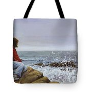 The Long Goodbye Tote Bag by Don Perino