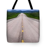 The Long Road Ahead Tote Bag