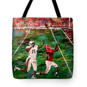 The Longest Yard Named  Tote Bag by Mark Moore