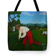 The Lost Ball Tote Bag