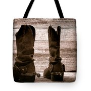 The Lost Boots Tote Bag