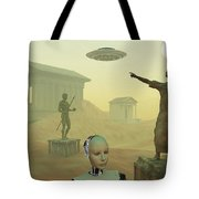 The Lost City Of Atlantis Tote Bag