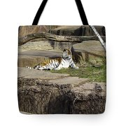 The Lounging Tiger 2 Tote Bag