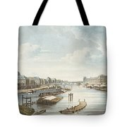 The Louvre, From Views On The Seine Tote Bag
