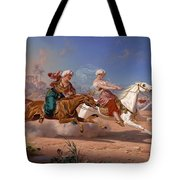 The Love Chase Tote Bag