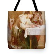 The Love Letter, 1871 Tote Bag