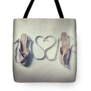 The Love Of A Ballerina Tote Bag