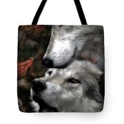 The Love Of Your Mate Tote Bag