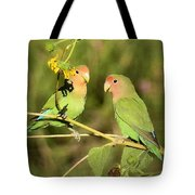 The Lovebirds  Tote Bag