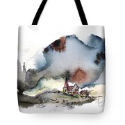 The Lull Before The Storm Tote Bag