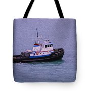 The Lunch Bucket Boat Tote Bag
