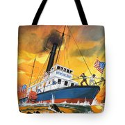 The 'madmen' Of The Mississippi Tote Bag by English School