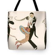 The Madness Of The Day Tote Bag by Georges Barbier