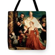 The Madonna Of The Cuccina Family Tote Bag