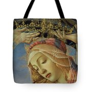 The Madonna Of The Magnificat Tote Bag