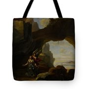 The Magdalen In A Cave Tote Bag