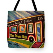 The Magic Bus Tote Bag