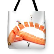 The Magic Show Little People Big Worlds Tote Bag