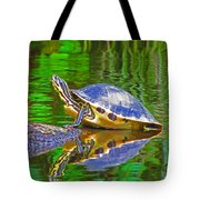 The Magnificence Of Turtle Tote Bag