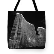 The Magnificent Aria Resort And Casino At Citycenter In Las Vegas Tote Bag