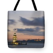 The Maiden's Tower  Tote Bag