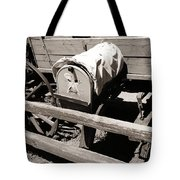 The Mailbox And The Wagon Tote Bag