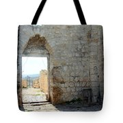 The Main Door To St.george Ruins Tote Bag