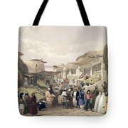 The Main Street In The Bazaar Tote Bag