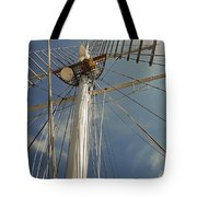 The Mainmast Of The Amazing Grace Tote Bag