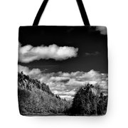 The Majestic Bald Mountain Pond  Tote Bag