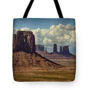 The Majesty Of Monument Valley  Tote Bag