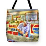 The Malt Shoppe Tote Bag