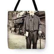 The Man In The Tophat Tote Bag