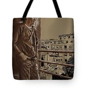 The Man Who Loved Paris Tote Bag