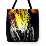 The Man Who Sees But Cannot Speak  Tote Bag