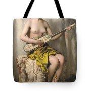The Mandolin Player Tote Bag