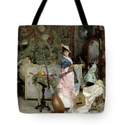 The Mandolin Shop Tote Bag by Vincenzo Capobianchi