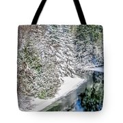 The Manistee River  Tote Bag