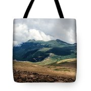 The Manitou And Pikes Peak Railway Cog Descends Tote Bag