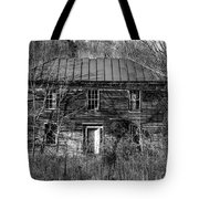 The Mansion Bw Tote Bag