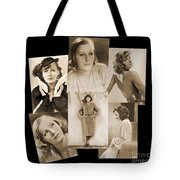 The Many Faces Of Greta Garbo Tote Bag