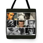 James Dean The Many Faces Tote Bag