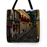 The Many Faces Of Macau Tote Bag