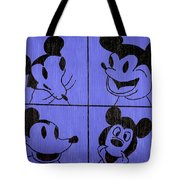 The Many Faces Of Mickey Tote Bag