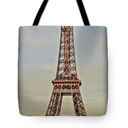 The Many Faces Of The Eiffel Tower In Paris France Tote Bag