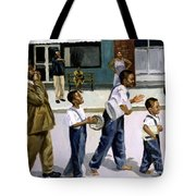 The Marching Band Tote Bag