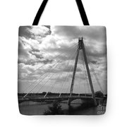 The Marine Road Bridge Southport Tote Bag